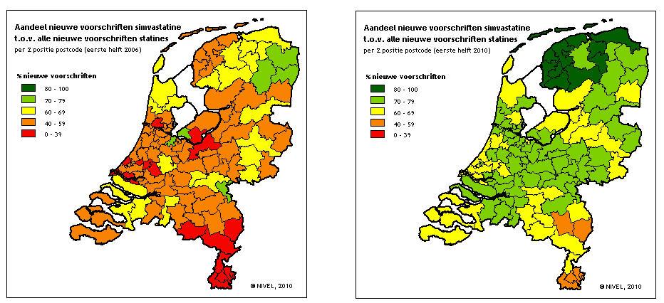 Nieuwe voorschriften 2006-2010 (Bron: NIVEL)